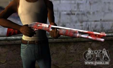 Chromegun v2 Apocalypse de coloriage pour GTA San Andreas troisième écran