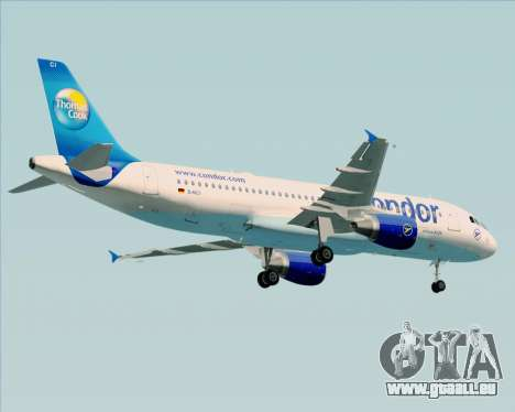 Airbus A320-200 Condor für GTA San Andreas Unteransicht