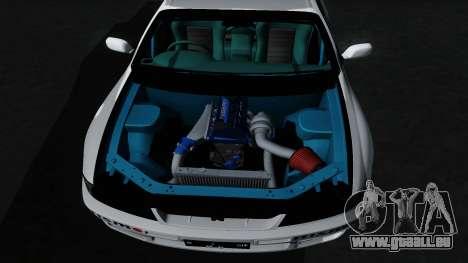 Nissan Skyline GT-R33 für GTA San Andreas Unteransicht