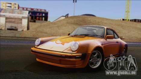 Porsche 911 Turbo 1982 Tunable KIT C PJ für GTA San Andreas
