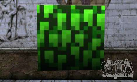 Bloc (Minecraft) v12 pour GTA San Andreas