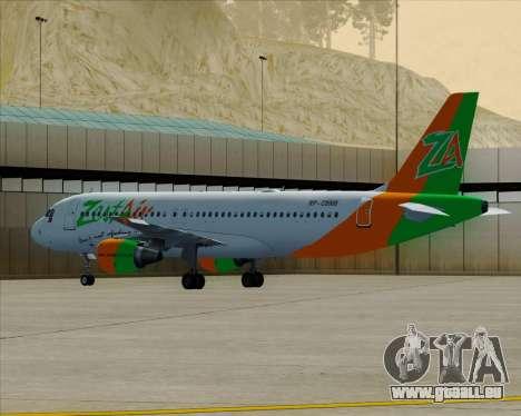 Airbus A320-200 Zest Air für GTA San Andreas