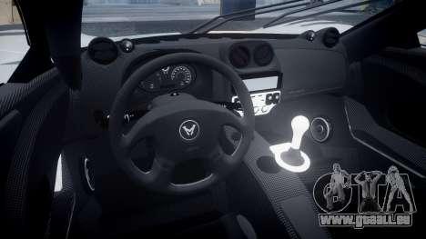 Mosler MT900 für GTA 4 Rückansicht