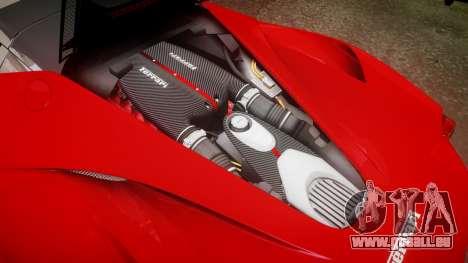 Ferrari LaFerrari für GTA 4 Seitenansicht