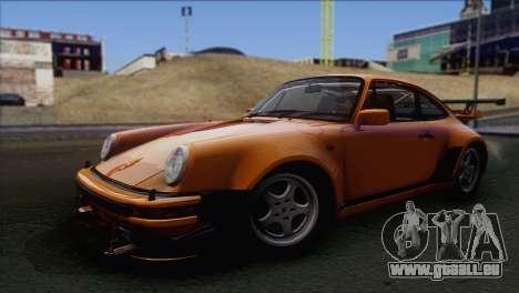 Porsche 911 Turbo 1982 Tunable KIT C PJ für GTA San Andreas rechten Ansicht