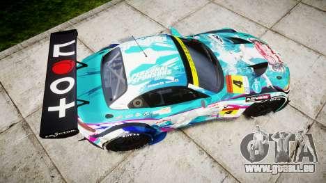 BMW Z4 GT3 2014 Goodsmile Racing für GTA 4 rechte Ansicht