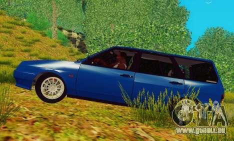 La VAZ-2109 Immobilier pour GTA San Andreas laissé vue