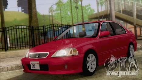Honda Civic 2000 für GTA San Andreas