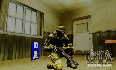 Weapon pack from CODMW2 für GTA San Andreas achten Screenshot