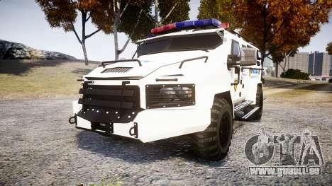 SWAT Van Police Emergency Service [ELS] für GTA 4