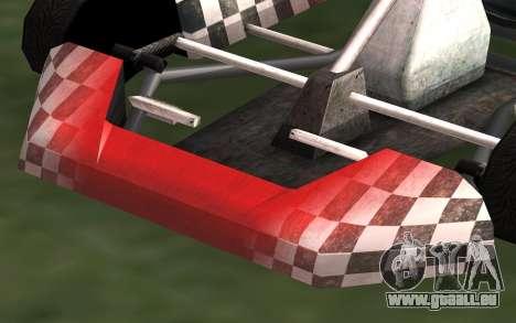 Mis à jour Kart pour GTA San Andreas pour GTA San Andreas sur la vue arrière gauche