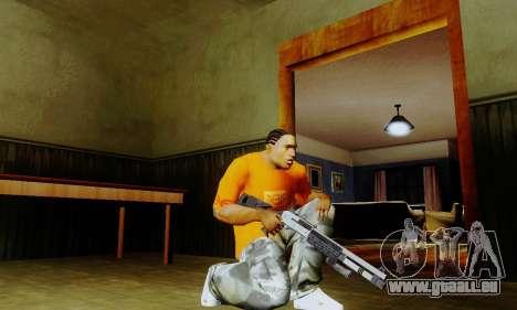 Weapon pack from CODMW2 für GTA San Andreas zweiten Screenshot