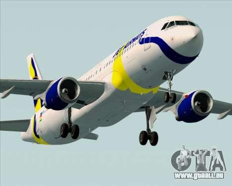 Airbus A320-200 Jet Airways für GTA San Andreas Motor
