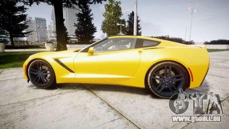 Chevrolet Corvette C7 Stingray 2014 v2.0 TireCon pour GTA 4 est une gauche