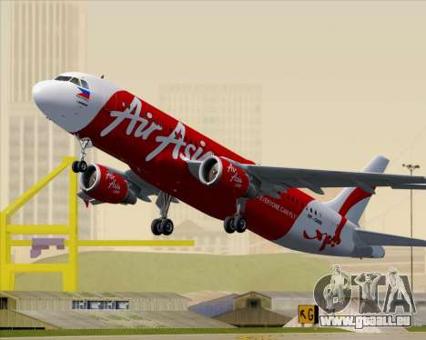 Airbus A320-200 Air Asia Philippines pour GTA San Andreas