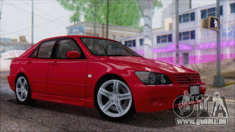 Toyota Altezza (RS200) 2004 (IVF) pour GTA San Andreas