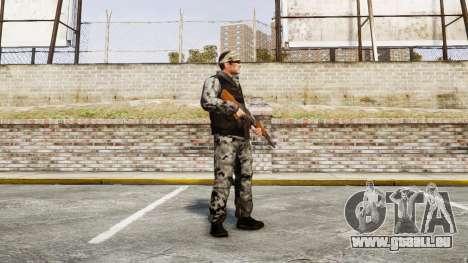 Medal of Honor LTD Camo2 pour GTA 4 secondes d'écran
