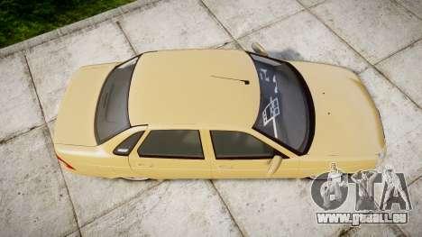 ВАЗ-2170 Installé Prieure 2014 pour GTA 4 est un droit