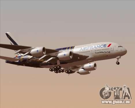 Airbus A380-800 Air France für GTA San Andreas linke Ansicht