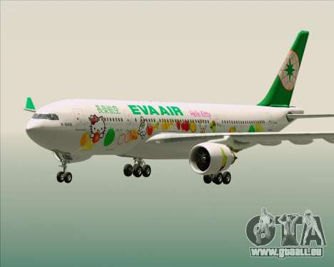 Airbus A330-200 EVA Air (Hello Kitty) für GTA San Andreas Innen