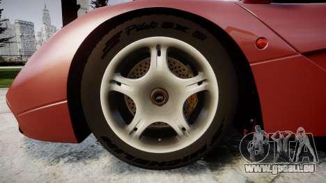 Mclaren F1 1993 [EPM] für GTA 4 Rückansicht