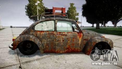 Volkswagen Beetle rust für GTA 4 linke Ansicht