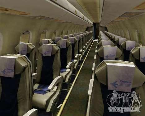 Embraer E-190-200LR House Livery für GTA San Andreas Räder