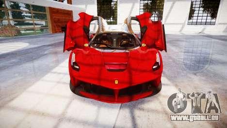 Ferrari LaFerrari für GTA 4 obere Ansicht