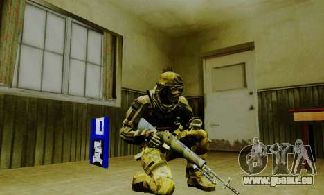 Weapon pack from CODMW2 für GTA San Andreas elften Screenshot