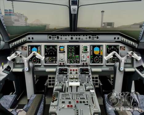 Embraer E-190-200LR House Livery für GTA San Andreas Innen