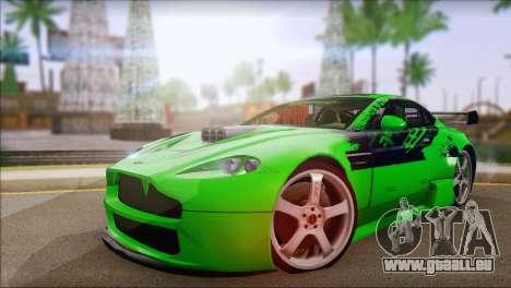 Aston Martin Vantage N400 für GTA San Andreas
