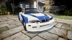 BMW M3 E46 GTR Most Wanted plate NFS Pro Street