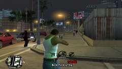 C-HUD by Jackson pour GTA San Andreas