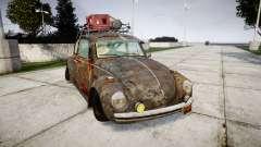 Volkswagen Beetle rust