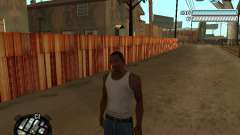 Respect C-HUD für GTA San Andreas