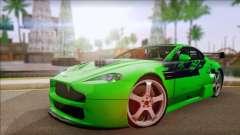 Aston Martin Vantage N400 pour GTA San Andreas