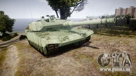 Leopard 2A7 CA Green pour GTA 4