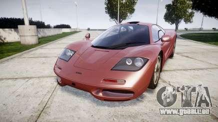 Mclaren F1 1993 [EPM] pour GTA 4