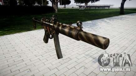 Gun MP5SD DRS FS für GTA 4