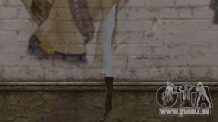 Couteau en acier pour GTA San Andreas