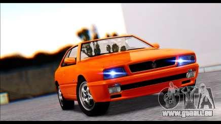 Maserati Ghibli II Cup (AM336) 1995 [ImVehFt] für GTA San Andreas