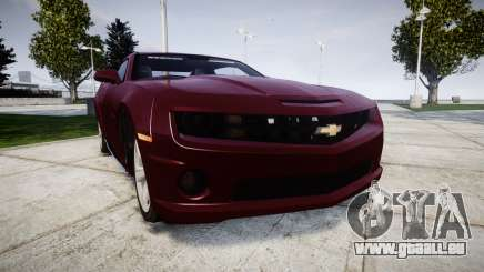 Chevrolet Camaro SS [ELS] Unmarked runners pour GTA 4