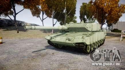 Leopard 2A7 DK Green pour GTA 4