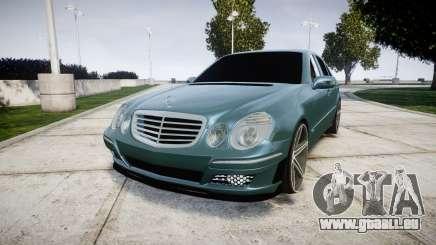 Mercedes-Benz W211 E55 AMG Vossen VVS CV5 pour GTA 4