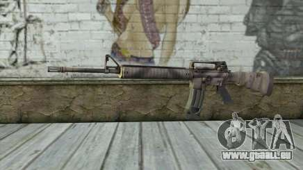 M16A4 from Battlefield 3 für GTA San Andreas