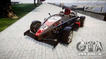 Ariel Atom V8 2010 [RIV] v1.1 Rosso & Bianco pour GTA 4