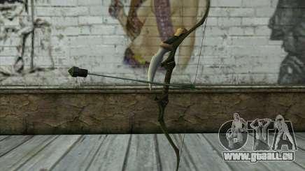 Green Arrow Bow v2 pour GTA San Andreas