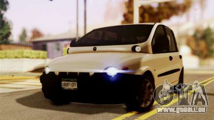 Fiat Multipla Black Bumpers für GTA San Andreas