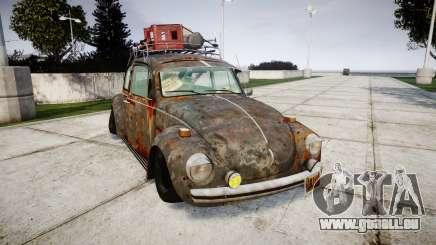 Volkswagen Beetle rust pour GTA 4