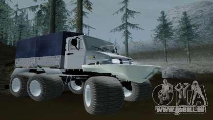 ZIL Kerzhak 6x6 pour GTA San Andreas
